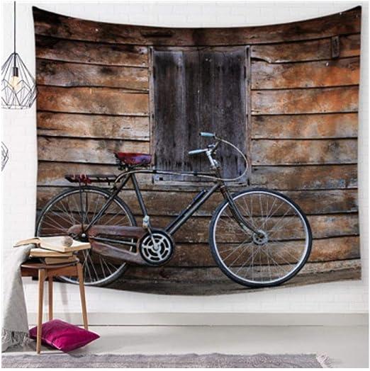 wangguifu Paisaje De Bicicleta Hippie Imprimir Mandala Tapiz ...