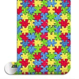 Sparkleberry Ink SBHT-12004-93-AUTISMAWARENESS Siser Htv Patterned, 12 inch by 4 Foot Roll, Autism Awareness
