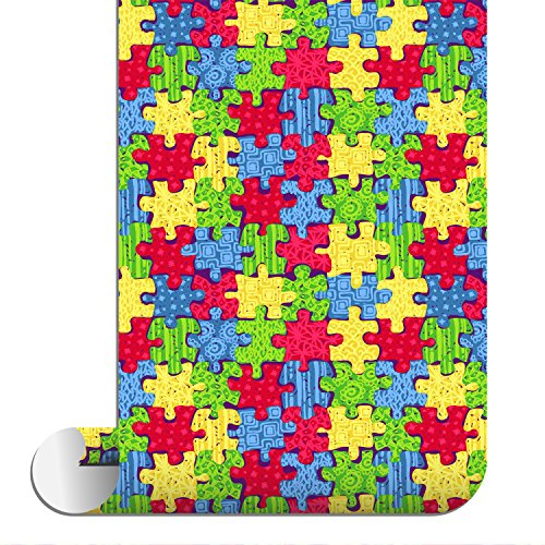 Sparkleberry Ink SBHT-12004-93-AUTISMAWARENESS Siser Htv Patterned, Autism Awareness by Sparkleberry Ink