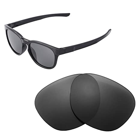 a845bfc3b4 Walleva Replacement Lenses for Oakley Stringer Sunglasses - Multiple Options  Available (Black - Polarized)