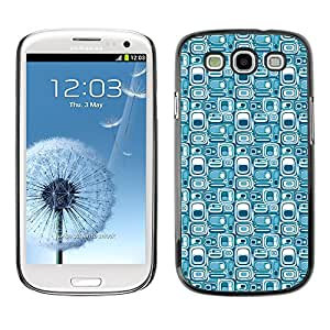 ZECASE Funda Carcasa Tapa Case Cover Para Samsung Galaxy S3 I9300 No.0000217