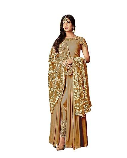 Amazon.com: stylishfashion Bollywood Designer - Vestido ...