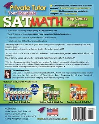 Private Tutor - Math Book - Complete SAT Prep Course: Amy