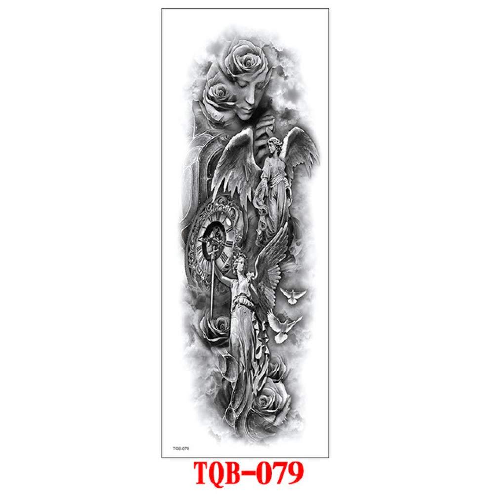 7pcs Barato escritura árabe tatuaje etiqueta engomada del tatuaje ...