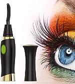 Heated Eyelash Curler, ZLiME Electric Eyelash Curler Electronic Eye Lashes Curling