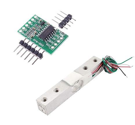 Aihasd Celda de Carga Digital Sensor de Peso 20kg Portátil Escala electrónica de la Cocina +