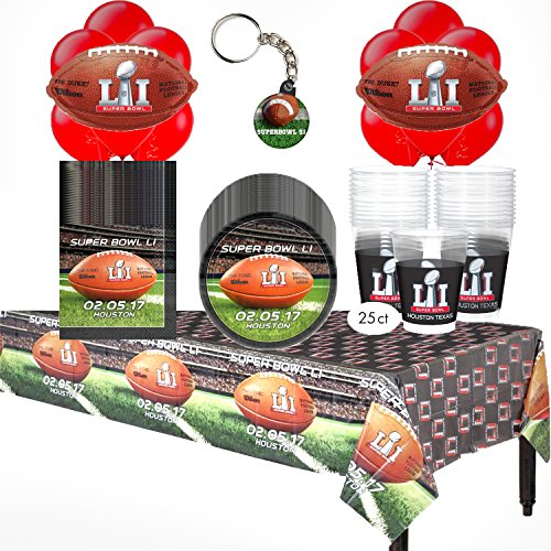 2017 Super Bowl 51 Huge Party Pack For 18 Guests