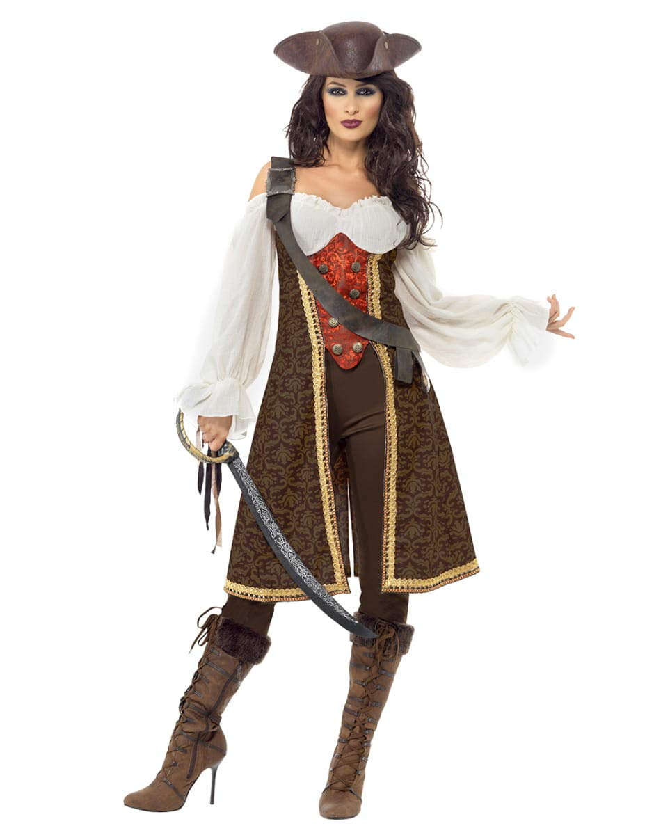 Horror-Shop Sexy Sexy Sexy Piratenkapitänin Kostüm für Damen M 496546