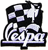 Vespa MOD MODS SKA Lambretta Scooter Logo Sign Biker Racing Back Patch Iron on Applique Embroidered T shirt Jacket BY SURAPAN