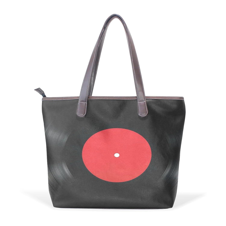 Womens Leather Tote Bag,Black CD,Large Handbag