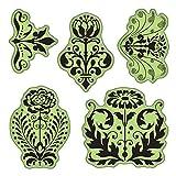Inkadinkado Stamping Gear Cling Stamps, Floral