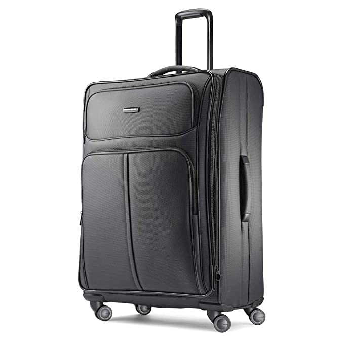 Samsonite Checked-Large, Charcoal best spinner luggage