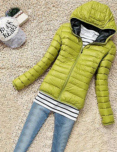 Coat Active Black Women's Sleeve YRF Long Green Solid Blue Red Brown Padded Hooded S ZgwfqB