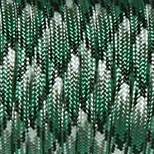 squaregarden Type III 7 Strand 550 Camouflage Paracord / Parachute Cord 100 Feet