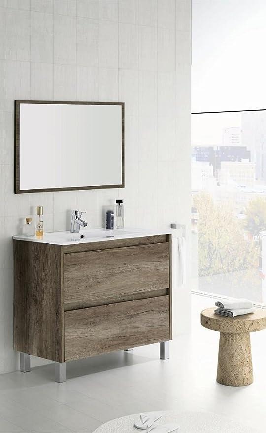 Salone-negozio-online Kit Mobile Bagno Dakota 2C CM ...