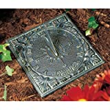 Whitehall Products Sunny Hours Sundial, Oil Rub Bronze