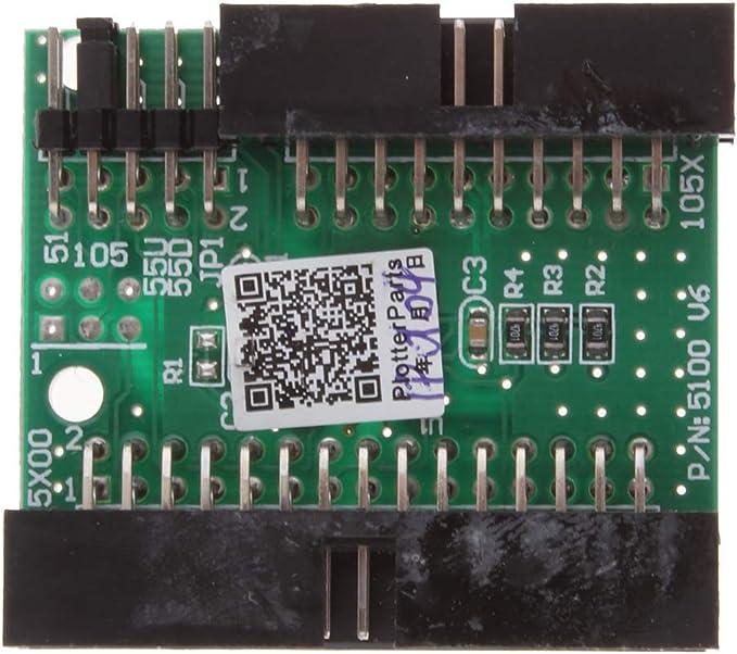 Gazechimp Tarjeta De Descifrado Premium para HP DJ 1050C / 1055CM ...