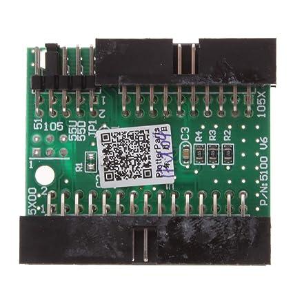 perfk Tarjeta De Descifrado Chip Decoder Resetter para HP DJ 1050C ...