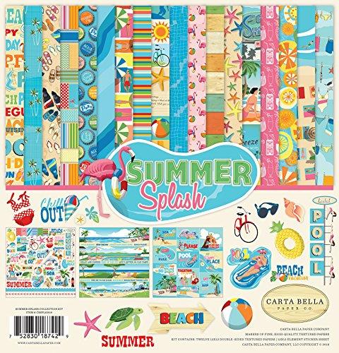 Carta Bella Paper Company Summer Splash Collection (Kit Splash)