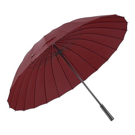 LybCvad paraguas Paraguas personalidad creativa de mango largo lluvia paraguas de doble uso para hombres y