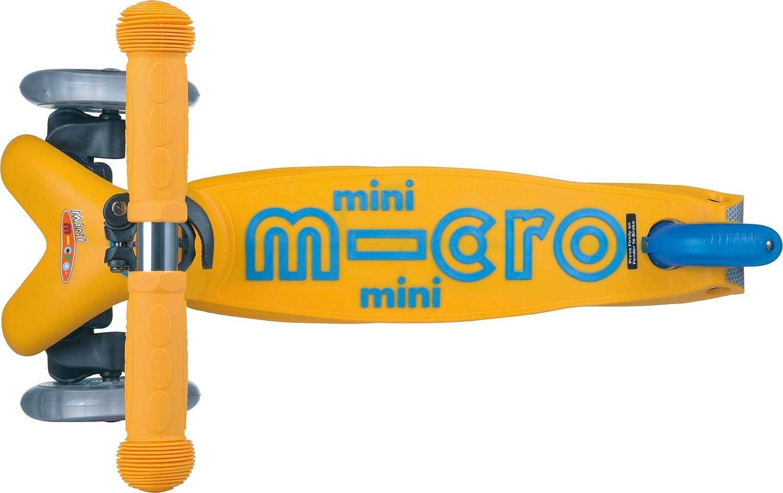 Micro Mobility MMD038 - Mini Patinete Deluxe (pequeño), Color Rojo