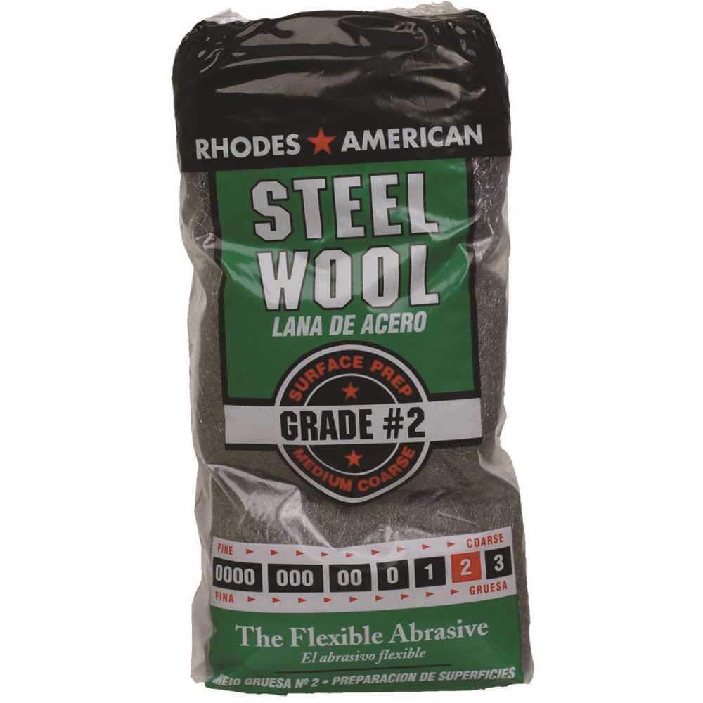 Homax 10121112-6#2 12 Pad Steel Wool Medium Coarse Grade