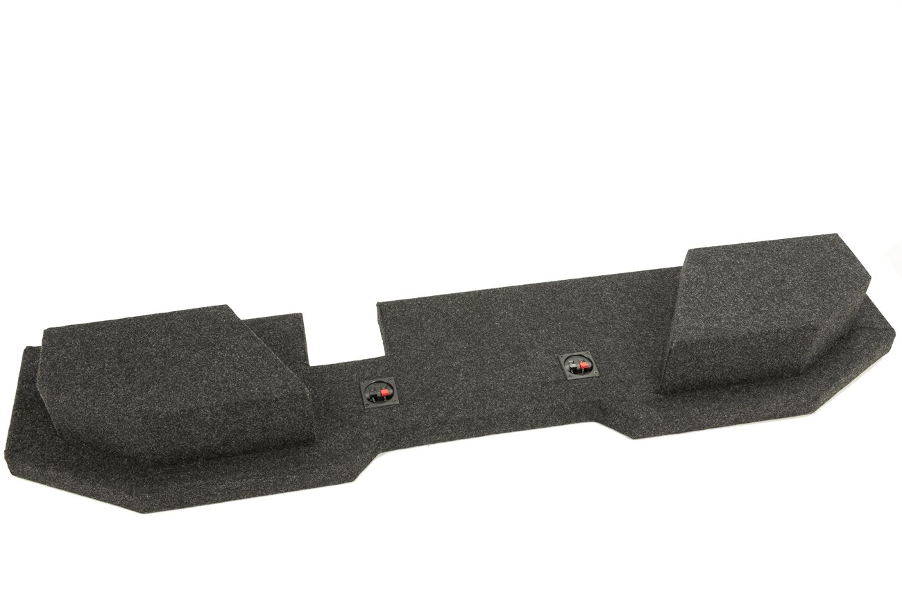 Bbox A202-10CP Dual 10'' Sealed Carpeted Subwoofer Enclosure - Fits 2002-2017 Dodge Ram Quad Cab by Atrend (Image #3)