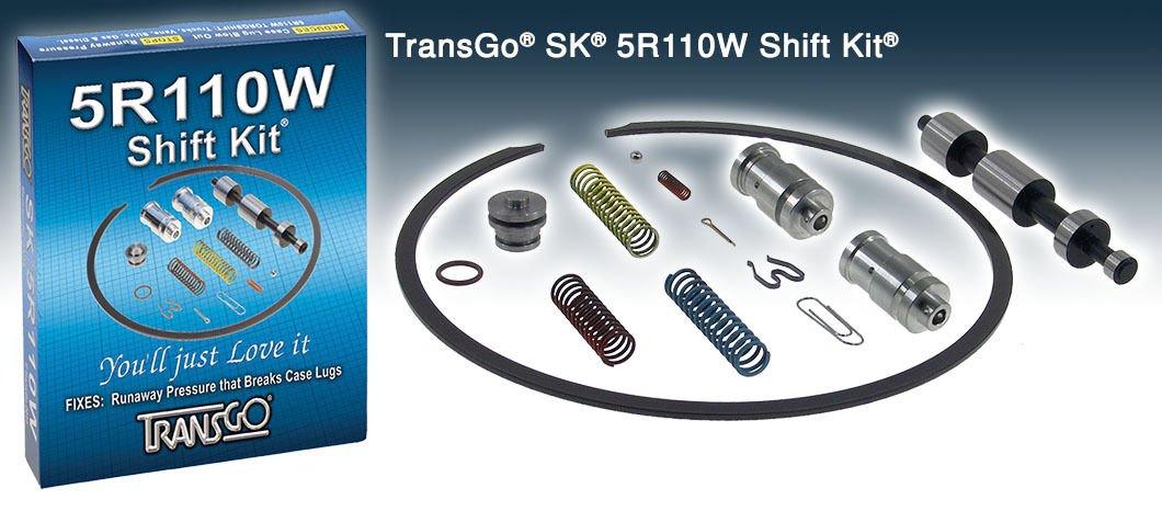 5R110W Transgo Shift Kit Transmission Ford Truck 03-10 All Models Diesel & Gas