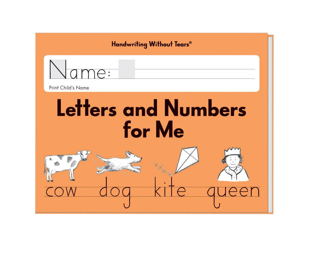 Amazon.com : Handwriting Without Tears Letters and Numbers Kindergarten :  Office Products