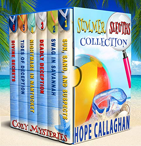 Summer Sleuths Cozy Mysteries Box Set Collection by [Callaghan, Hope]