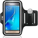 Sportarmband, BEZ® Sportarmband Hülle Armtasche Hülle / Wasserabweisendes Sport-Armband mit Schlüsseltasche für Samsung Galaxy S5 Mini - Smartphone Fitness Armband für Laufen, Wandern , Radfahren , Reiten