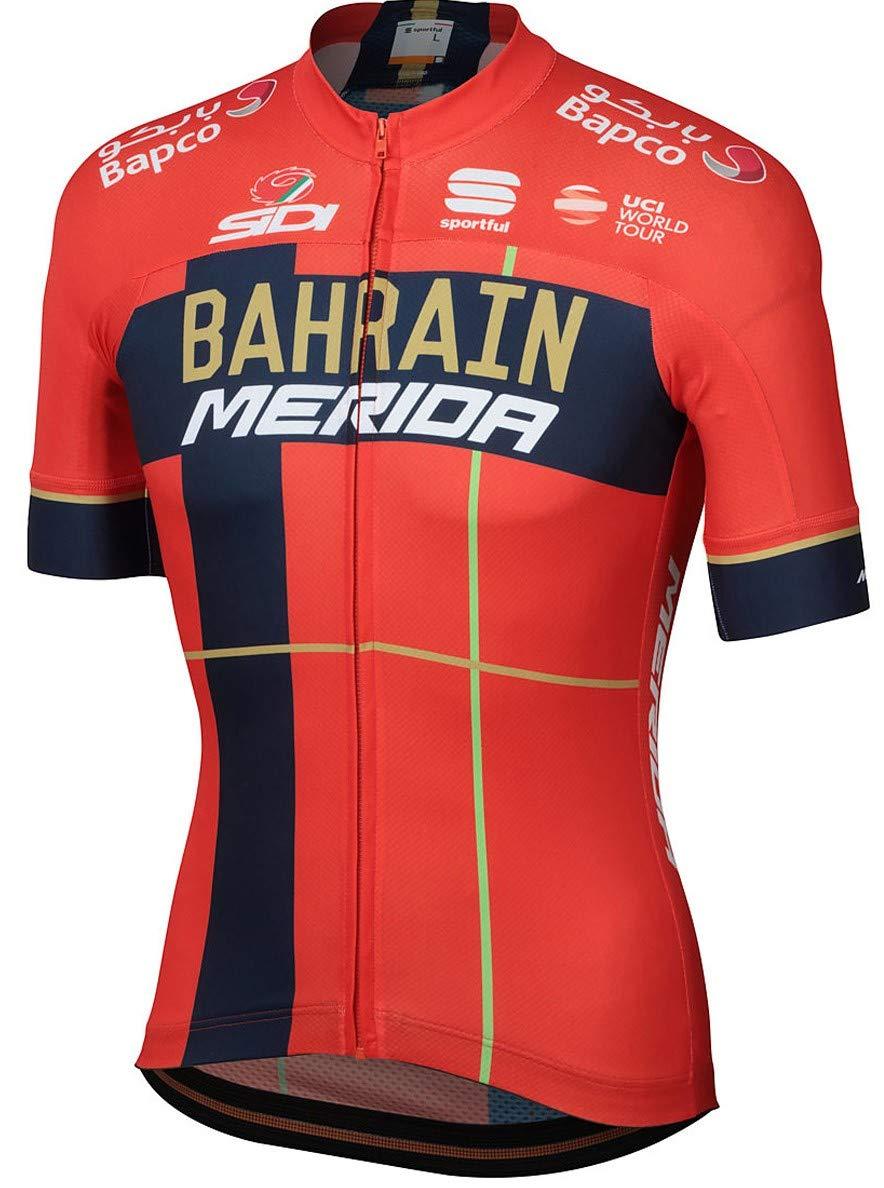 自転車ウェア 2019 Bahrain Merida Sサイズ 半袖ジャージ Bodyfit team   B07P87VJRF, 栄区 9e626eff
