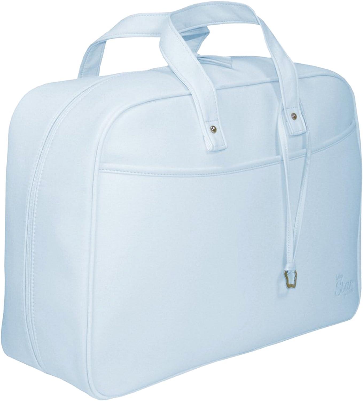 Garessi M12-08, Bolso-maleta de maternidad, Celeste