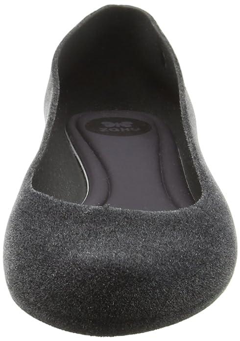 b227bdb8359 Zaxy Women's Pop Flock 2 Ballet Flats: Amazon.co.uk: Shoes & Bags