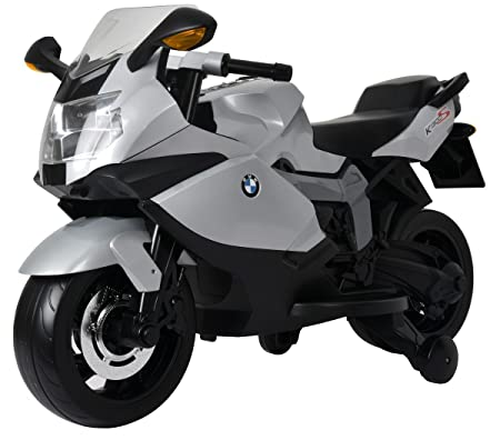 RCS toys Kid's Ride-on Licensed BMW K1300S Model Bike (Multicolour) Electrical Vehicles at amazon