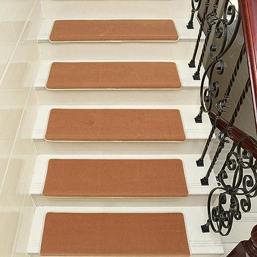 LCJTTBD Antideslizantes para alfombras de Escalera Escalera ...