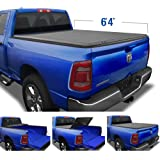 """Tyger Auto T3 Soft Tri-Fold Truck Bed Tonneau Cover for 2019-2021 Ram 1500 New Body Style   6'4"""" Bed   Not for Classic   Does"""