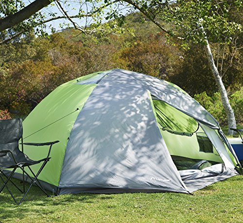 Lightspeed Outdoors Vermont 4 Person Star Gazing C&ing Tent & Lightspeed Outdoors Vermont 4 Person Star Gazing Camping Tent ...