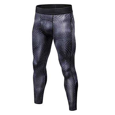 YYear Men's Sport Compression Performance Quick Dry Tights Training Pants