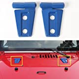 AVOMAR 2Pcs ABS Engine Hood Hinge Cover for
