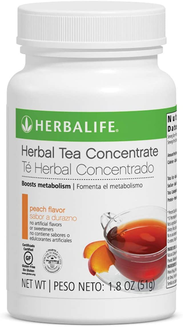 Herbalife Herbal Tea Concentrate (Peach, 1.8 Oz(51g))