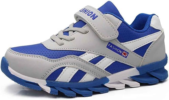 HSNA Zapatillas para Niño Zapatos Transpirables Caminar Correr Trainers Kids (29-39 EU): Amazon.es: Zapatos y complementos