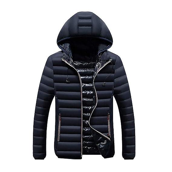 Amazon.com: Goddessvan 2019 Men Winter Hooded Softshell for ...
