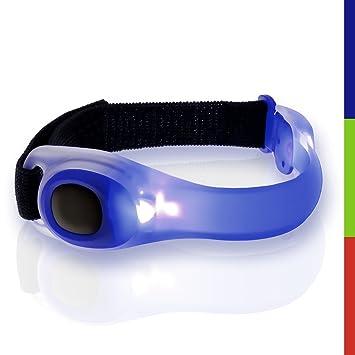 1Pair Reflective LED Light Armband Strap Safety Belt Night Running Cycle Walking