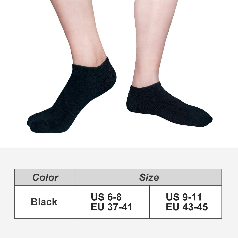 Chaussettes Sneaker rayé Footies Chaussettes 6er Pack Unisexe Füßling 40-46 Basic