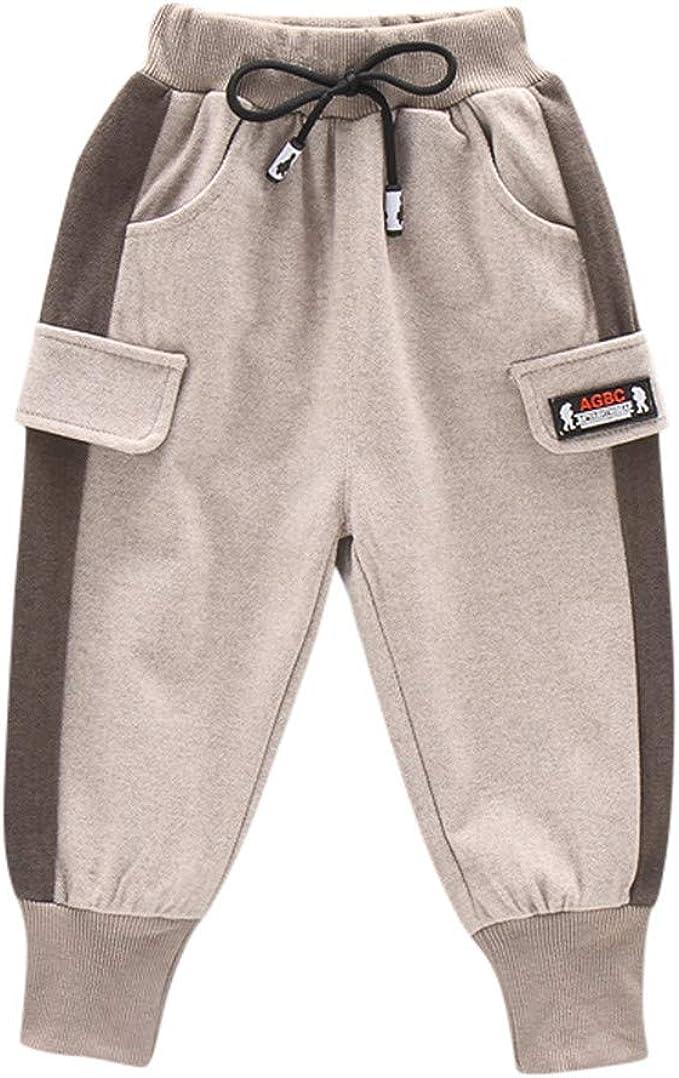 Kids Boys Girls Cartoon Harem Pants Slacks Jogger Sweatpants Loose Trousers