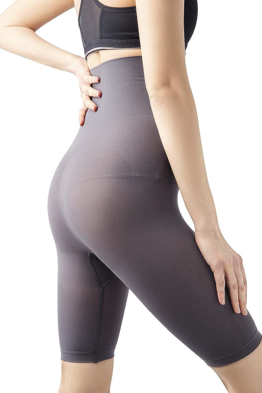 55abdb94a77e7 MD Womens Shapewear High Waist Mid Thigh Shaper Slimmer Power Shorts ...
