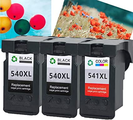 Teng® - Cartuchos de Tinta para Canon PG-540XL CL-541XL para Canon ...