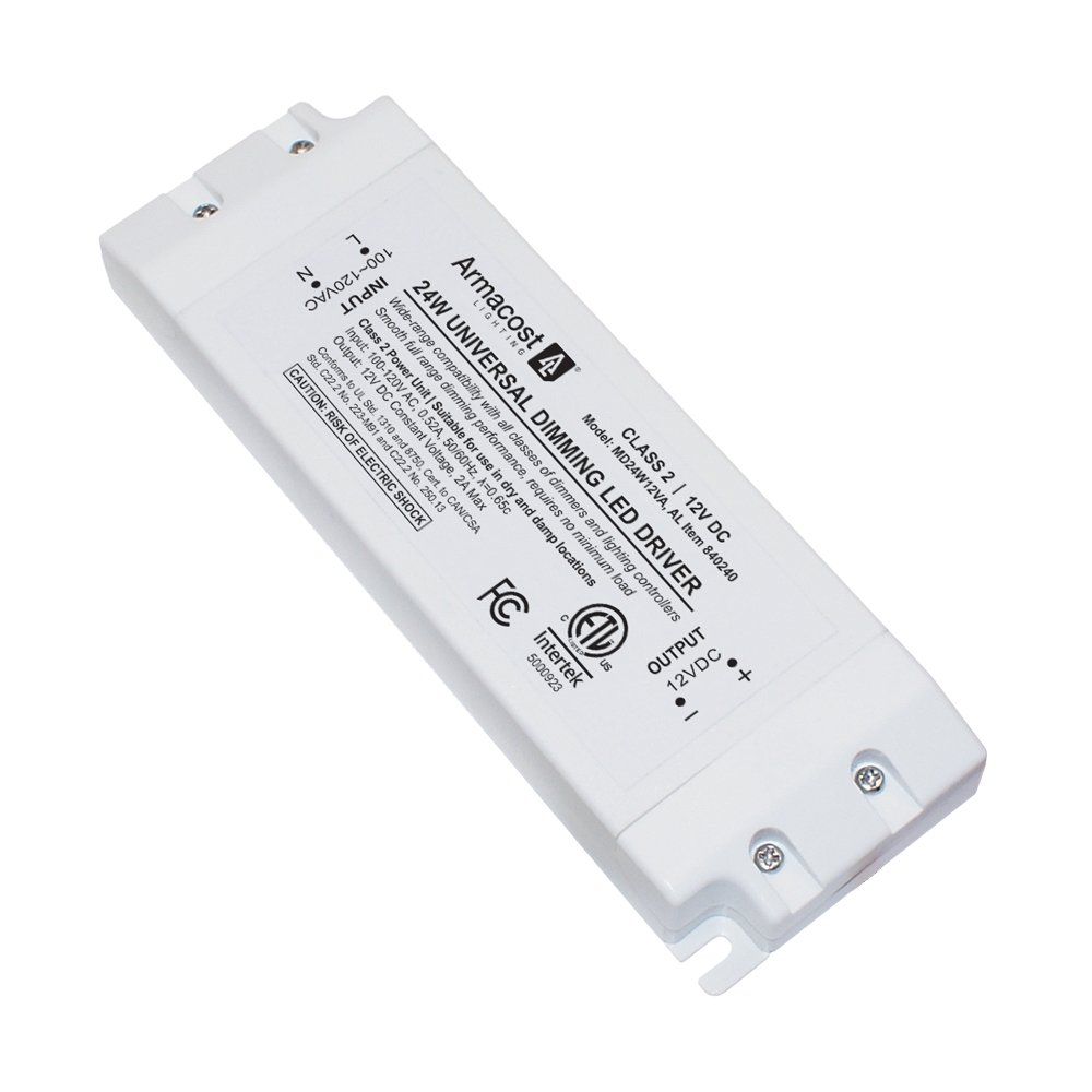 Armacost Lighting 840240 Led Power Supply Dimmable Driver