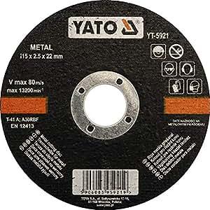 Metal Cutting Disc 115mmx22mmx3.2mm